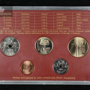 2004 Årssett Hardplast UNC