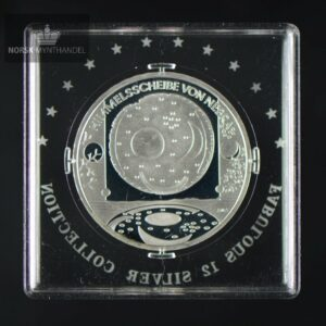 "2008 Tyskland 10 Euro Sølvmynt ""Nebra Sky Disc"" Fabulous 12"