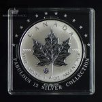 2008 Canadian Silver Maple Leaf 1 oz F12 Privy