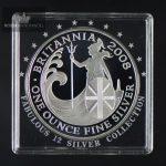2008 Storbritannia 1 oz Sølv Britannia Proof