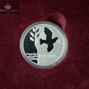1995 50 kroner Frigjørings Mynten i Sølv Proof