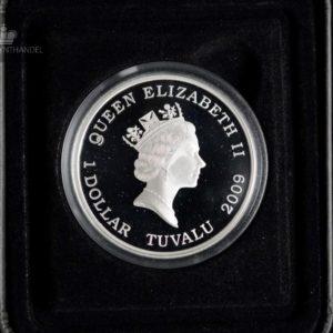"2009 Tuvalu 1 oz Sølv ""Famous Battles in History - Cannae"""