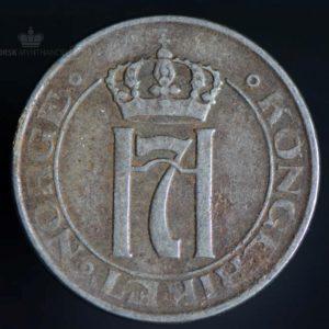 1918 2 Øre Kv 1/1- Jern