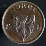 1943 2 Øre Kv 0/01 Jern