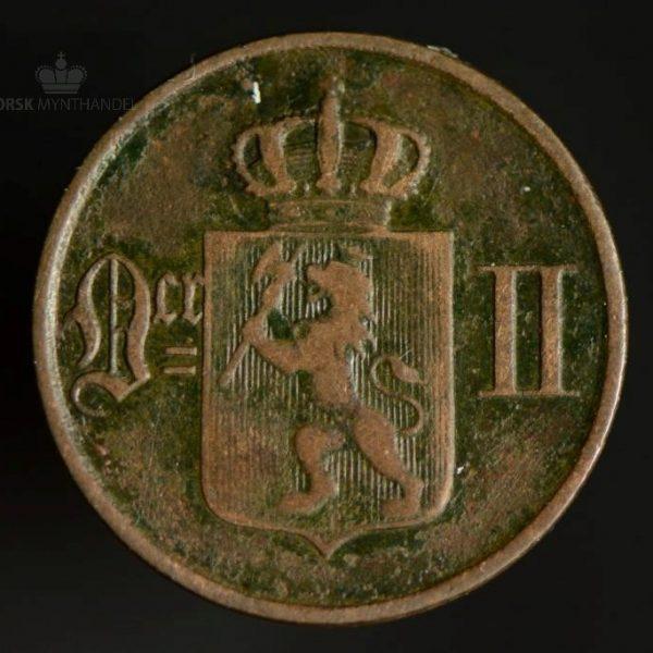 1891 1 Øre Kv 1