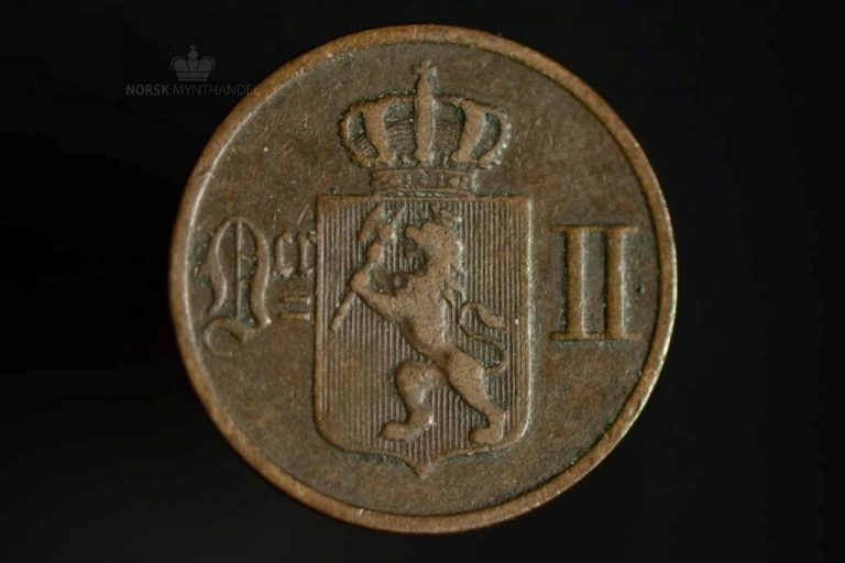 1889 1 Øre Kv 1