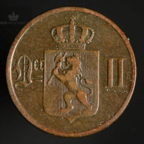 1893 1 Øre Kv 1