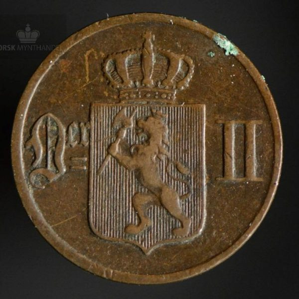 1897 1 Øre Kv 1