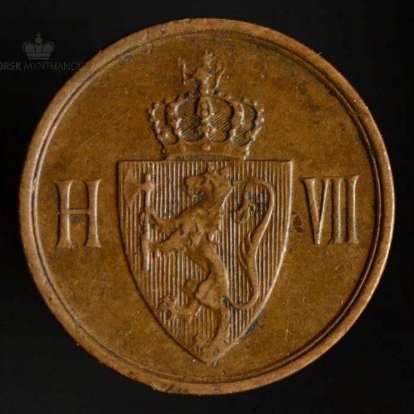 1906 1 Øre Kv 1