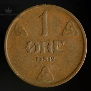 1912 1 Øre Kv 1-