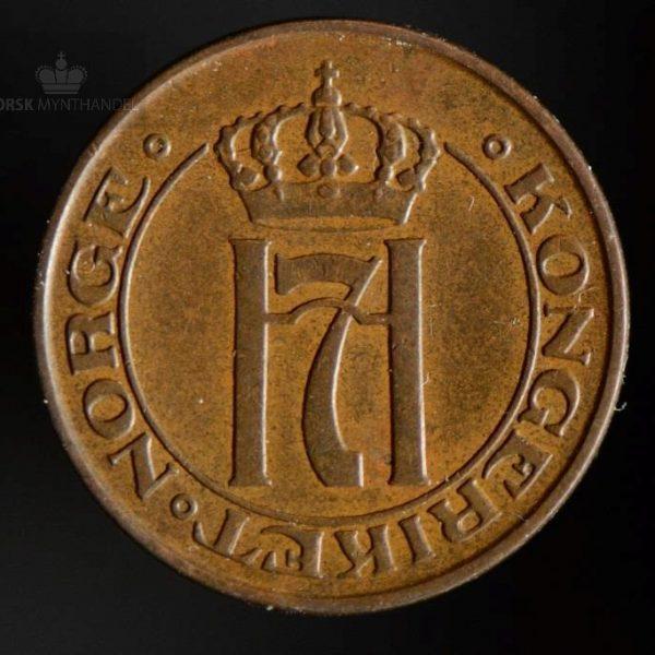 1915 1 Øre Kv 1+ Svakt preg