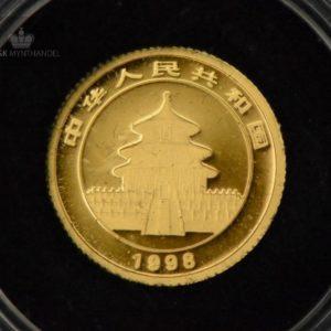 "1998 Kina 1/20 oz Gull Panda ""Large Date"" BU"