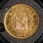 1878/1890 Gulltransporten 20 Kroner/Kronor Gull