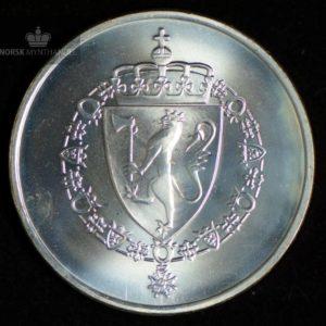 1989 175 kroner Sølvmynt Grunnloven 175 år Kv 0