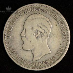 2 Kroner 1878 Kv 1- #1