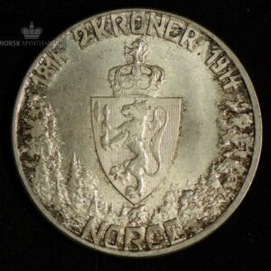 "2 Kroner 1914 ""Mor Norge"" Kv 01 #1"