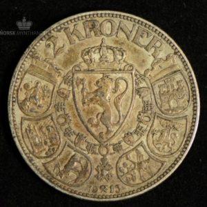 2 Kroner 1915 Kv 1 #1
