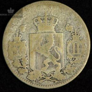 1896 25 Øre Kv 1-/2 #2