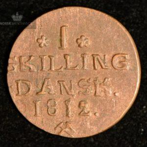 1812 Norge 1skilling Kv 01 #2