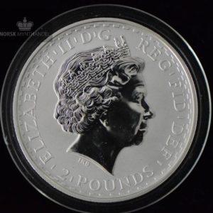 1999 Storbritannia 1 oz Sølv Britannia BU