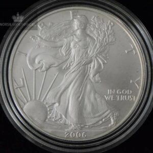 2006-W Burnished Silver American Eagle 1 oz BU