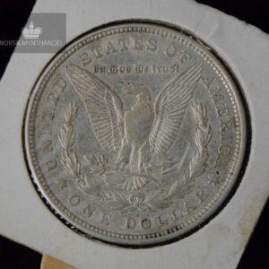 1921-D USA Morgan Sølv Dollar Sirkulert Kv1