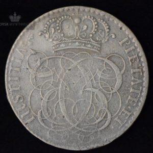 """1698 Norge 4 Mark Kv 1- """"Montert"""""""