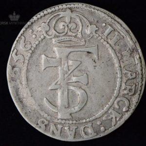 1656 Norge 2 Mark Kv 1