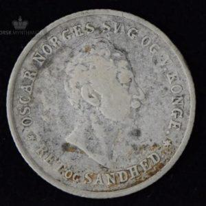 1846 Norge 12 Skilling Kv 1- #2