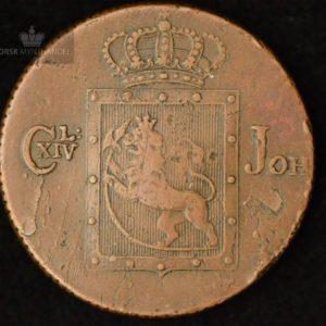 1822 Norge 2 Skilling Kv g1