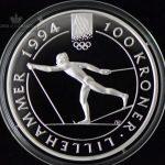 1991 100 Kroner Lillehammer 94