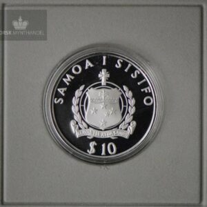 "1991 Samoa 10 Tala ""RA Expeditions"" Proof"