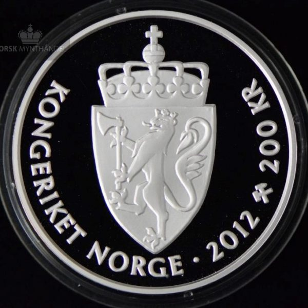 2012 200 Kroner Sølvmynt