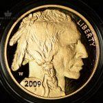 2009-W USA 1 oz Gold Buffalo Proof
