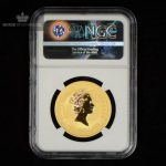 1998 Australia 1 oz Gull Lunar Year of the Tiger NGC MS69