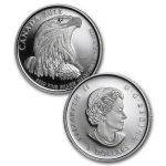 2015 Canada 4-Coin 1.85 oz Silver Bald Eagle Set Proof