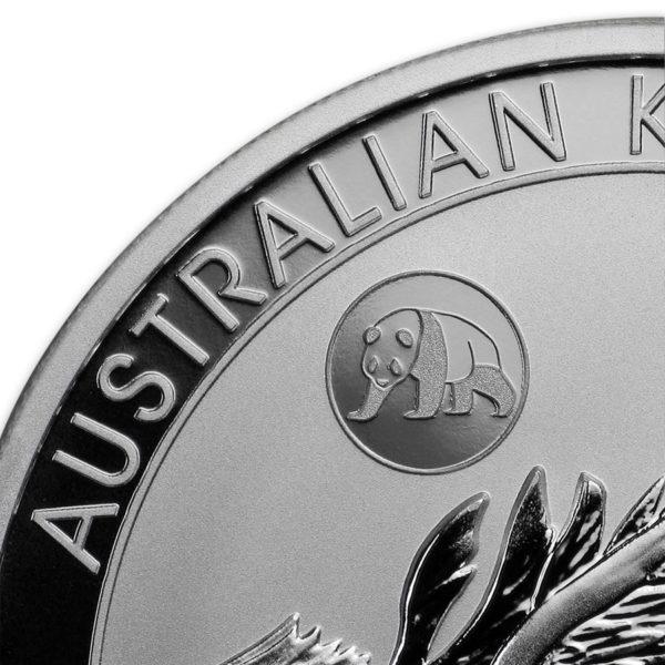 2018 Australia 1 oz Sølv Kookaburra «Panda Privy» BU