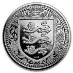 2018 Gibraltar 1 oz Sølv Royal Arms of England BU