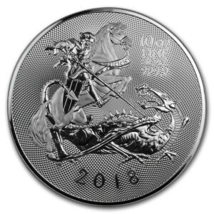 "2018 Great Britain 10 oz Silver ""Valiant"" BU"