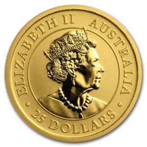 2019 Australia 1/4 oz Gold Kangaroo BU