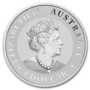 2019 Australia 1 oz Sølv Kangaroo BU