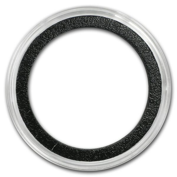 Air-Tite X6D - 40mm Black Ring 2 oz Myntkapsel