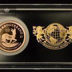 2017 Sør Afrika 1/10 oz Gull Krugerrand Proof M/Barre