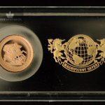 2017 Storbritannia Quarter Gold Sovereign Proof M/Barre