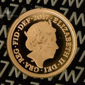 2017 Storbritannia Quarter Gold Sovereign Proof M/Barre