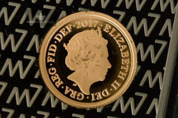 2017 Great Britain Quarter Gold Sovereign Proof