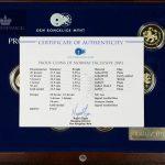 2003 Norge Proofsett Exclusive M/Gullmedalje