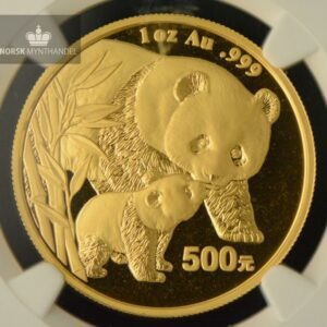 2004 Kina 1 oz Gold Panda NGC MS68