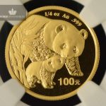 2004 Kina 1/4 oz Gull Panda NGC MS68