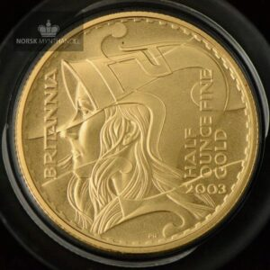 2003 Great Britain 1/2 oz Gold Britannia Proof